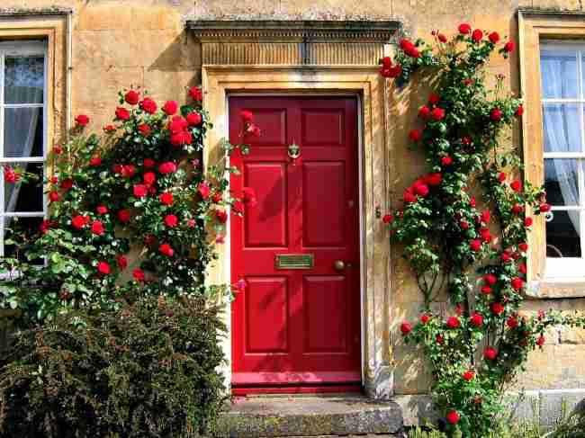 red door chocolate box