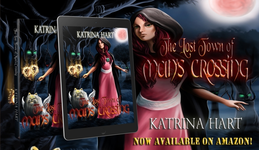 The Lost townof Man's Crossing - Banner